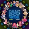 Affiche annonçant un spectacle virtuel de drag queens