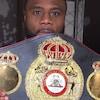 Jean Pascal et sa ceinture WBA des mi-lourds