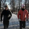 La course d'hiver