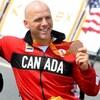 Charles Moreau et sa médaille de bronze des Jeux olympiques de Rio
