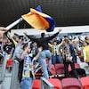 Des partisans de retour dans un stade de soccer en Hongrie