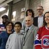 Plusieurs personnalités sportives comme Karell Émard, des Canadiennes de Montréal, Khadim Mbaye, des Alouettes de Montréal et Luc Gélinas de RDS prêtent leur soutien au sportif pacifique.