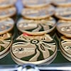 Les médailles remises lors des 28e Jeux du Canada, présentés à Winnipeg