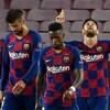 Lionel Messi et ses coéquipiers