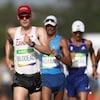 Le Canadien Mathieu Bilodeau à l'épreuve de marche 50 km à Rio