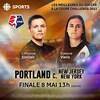 La finale de la Coupe Challenge NWSL 2021 va opposer le Thorns de Portland au Gotham FC, en webdiffusion sur le site de Radio-Canada Sports à compte de 13h