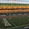 Le Stade du Commonwealth à Edmonton, vide.