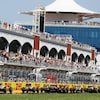 Vue d'ensemble du public dans les installations d'un grand prix de F1