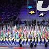 La cérémonie d'ouverture des 29es Universiades d'été, à Taipei