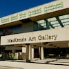 La façade du Musée d'Art Mackenzie de Regina.