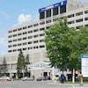 Vue extérieure de l'Hôpital d'Ottawa.