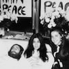 John Lennon et Yoko Ono lors du <em>bed-in</em> au printemps 1969