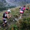 Des coureurs sur la piste de l'Ultra-Trail du Mont-Blanc