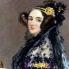 La peinture d'une dame.