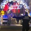 Un important dispositif de sécurité a été déployé autour du périmètre où ont été tirés des coups de feu à Strasbourg.