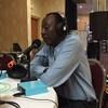 Didier Leclair en entrevue à Radio-Canada au Salon du livre de Sudbury en 2016.