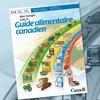 La couverture du Guide alimentaire canadien.