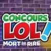 Logo du Concours LOL mort de rire.
