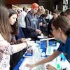 Journée Filles et sciences VS Branchés, les gars! à l'Université de Sherbrooke.