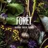 Couverture d'un livre montrant toutes sortes de produits alimentaires de la forêt.