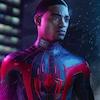 Image de Miles Morales habillé en Spider-Man.