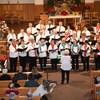 La chorale Le chœur La Borée de Kapuskasing en performance.