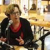Danielle Coulombe au Matin du Nord, en direct de la Scierie patrimonale de Hearst