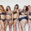 Un groupe de mannequins portent la nouvelle collection de soutien-gorges sans armature de marque Emma.