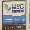 Une enseigne souhaite la bienvenue dans la MRC d'Avignon.