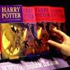 Un étalage de livres de la très populaire série littéraire <i>Harry Potter</i>.
