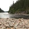 La rivière Moisie.