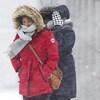 Des chutes de neige parfois fortes sont prévues dans les trois provinces maritimes durant la tempête (archives).