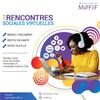Une affiche du MOFIF qui fait la promotion de leurs rencontres virtuelles.