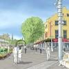 Croquis de la future esplanade polyvalente de la rue York.