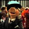 Des marionnettes (une grenouille, une cochonne...) dans la rue.