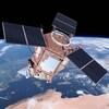 Un satellite canadien dans l'espace.