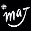 Illustration: fond rouge sur lequel apparaît le texte « l'actualité pour les jeunes ». Plusieurs emojis sont disposés autour du texte.
