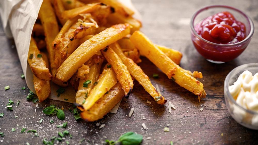 Pommes de terre frites - Recettes - Mordu