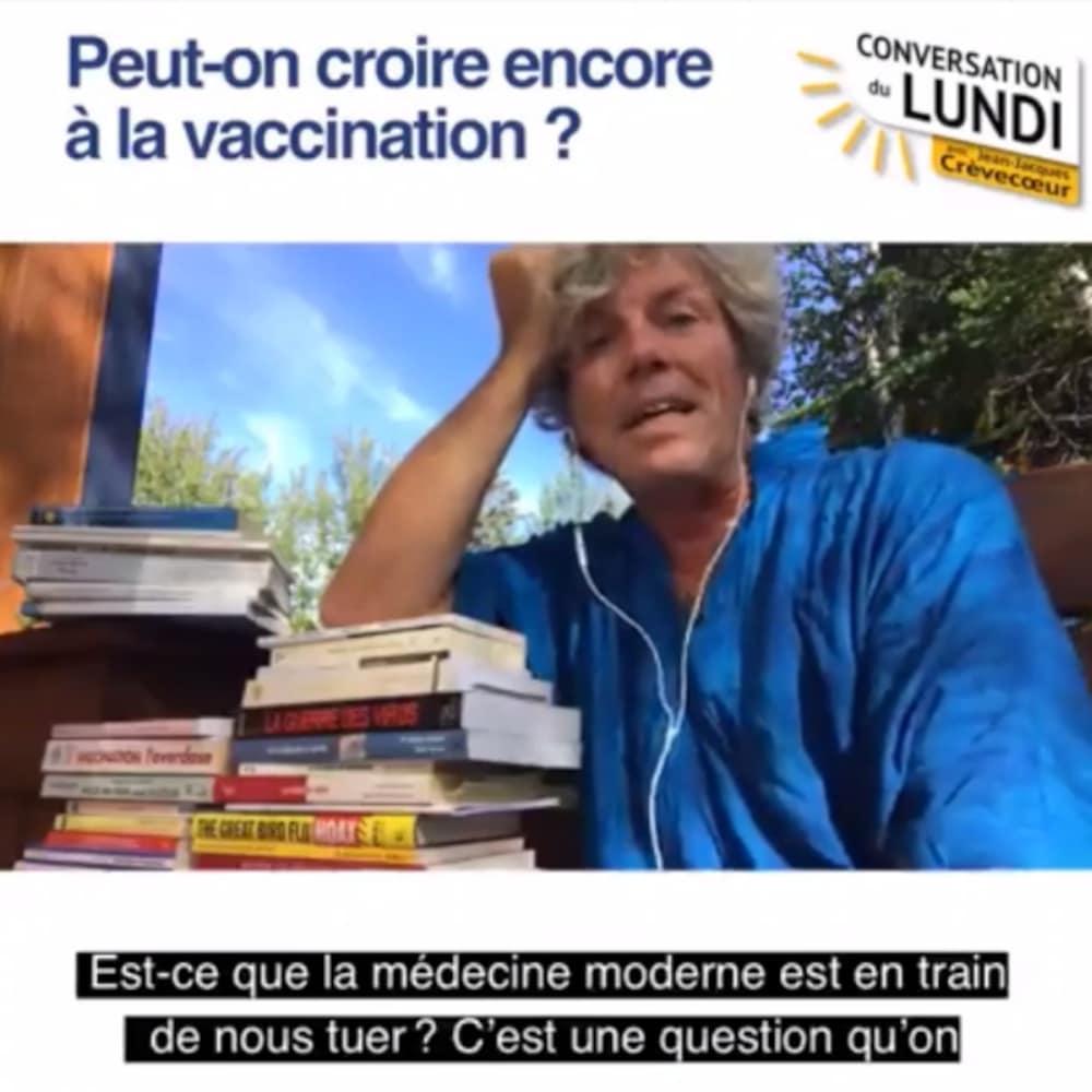 Publication Facebook avec le portrait de Jean-Jacques Crèvecoeur.