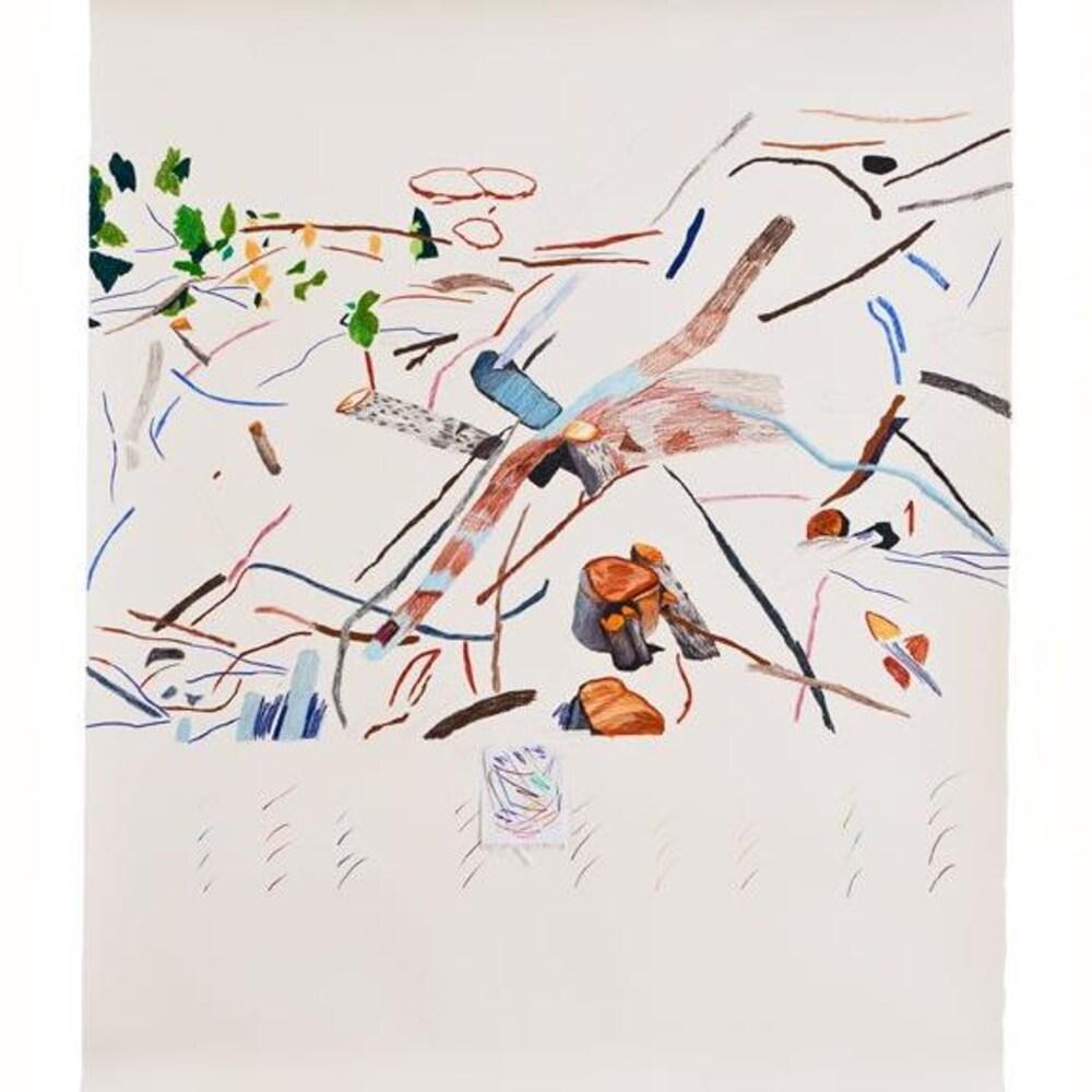 Les Sites: Lieux de passages IV de l'artiste Andrée Demers-Roberge, disponible sur Art Bang Bang.