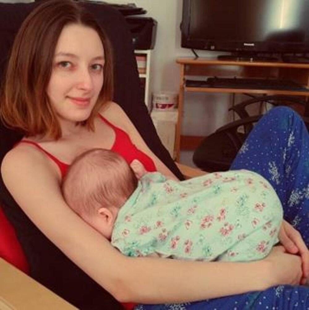 Aryanne Bernier et sa fille Phoebe Potvin.
