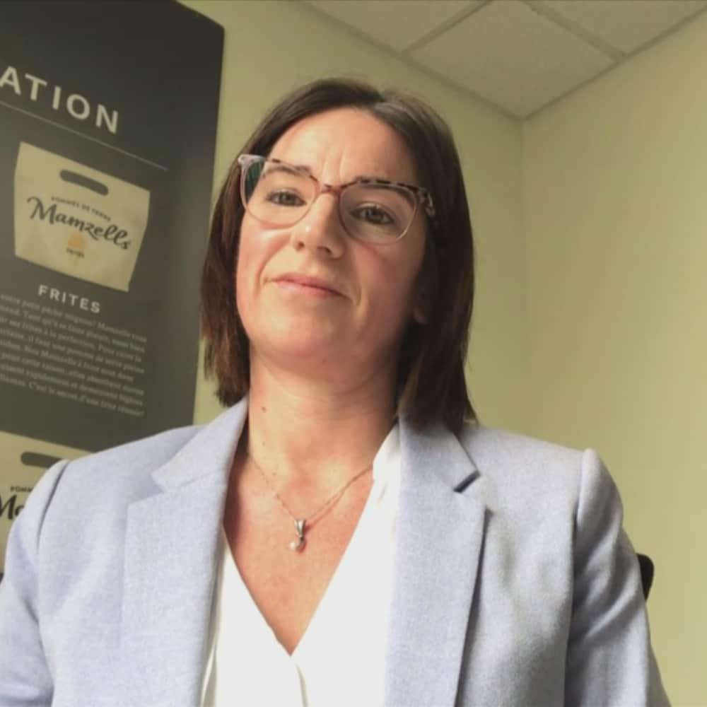 La directrice générale de Québec Parmentier, Audrey Boulianne.