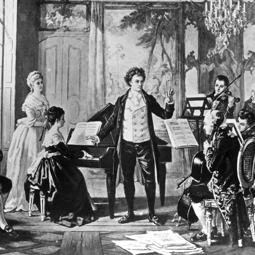 Un tableau de Beethoven.