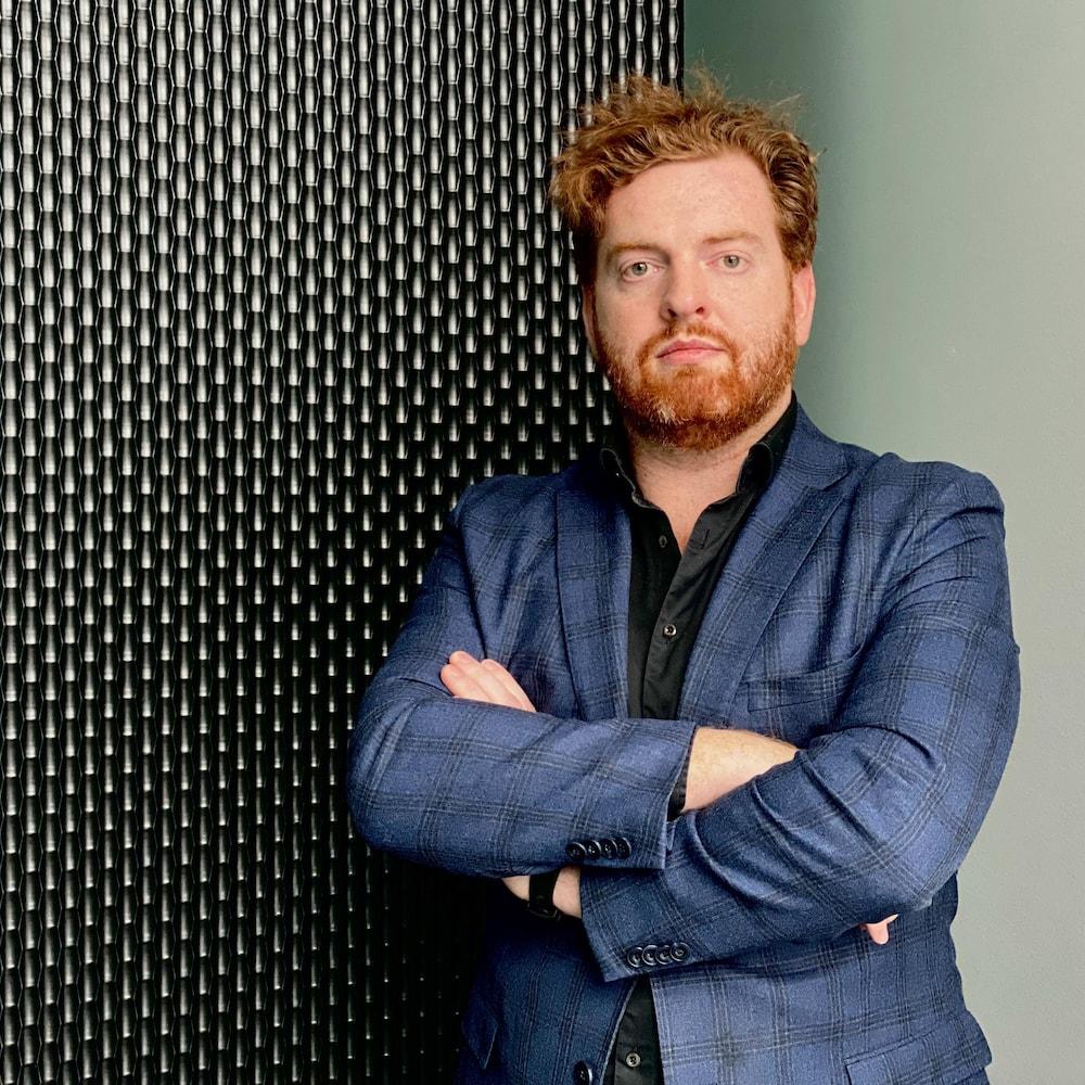 Étienne Crevier, biochimiste de formation et PDG de Medfuture.