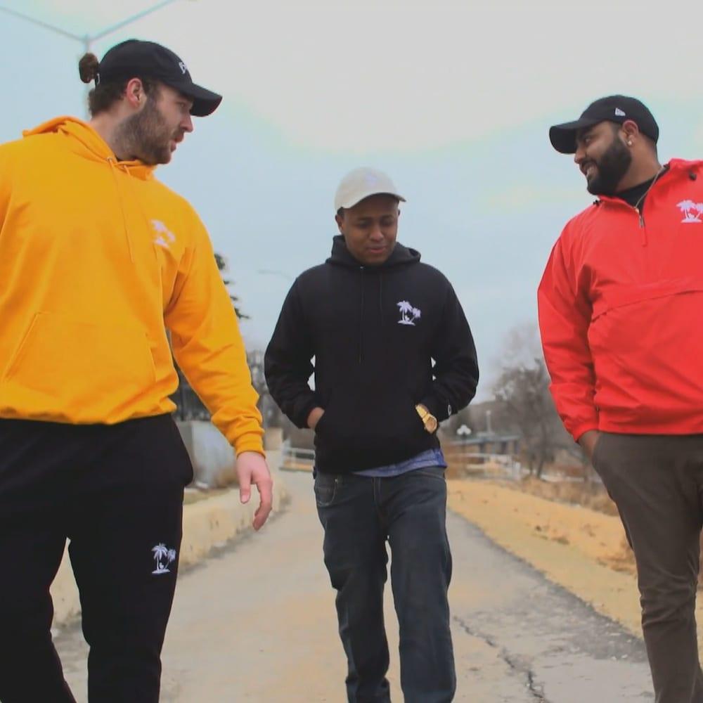 Curtis Krahn, Kaynoun Mohamed et Vellan Vadivelu
