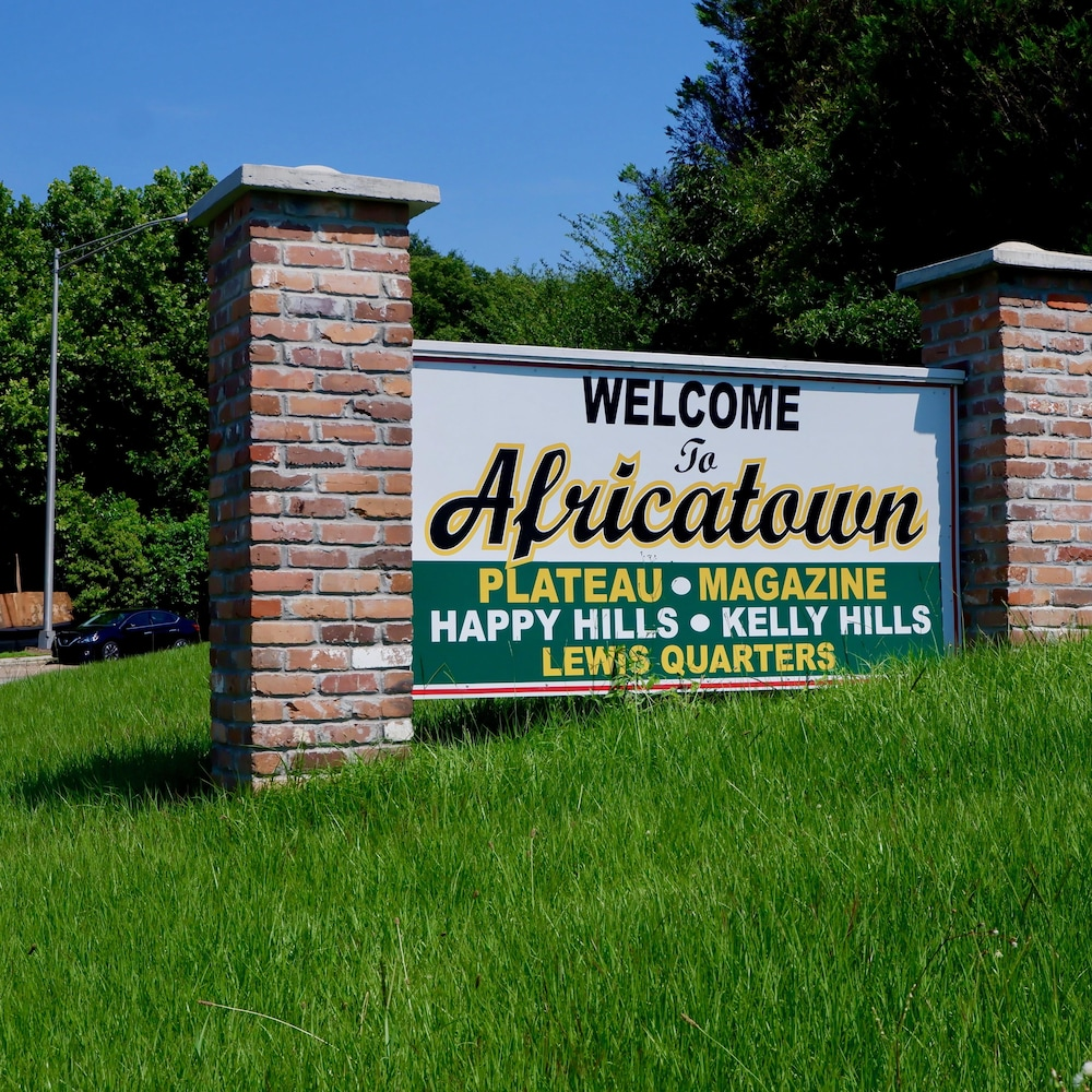 Le quartier Africatown, à Mobile.