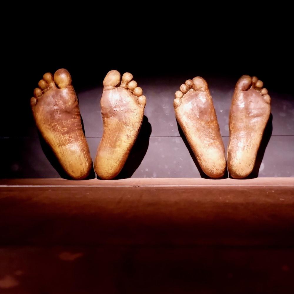 Une partie de l'exposition permanente du Musée d'histoire de Mobile est destinée aux conditions de détention sur les navires d'esclaves.