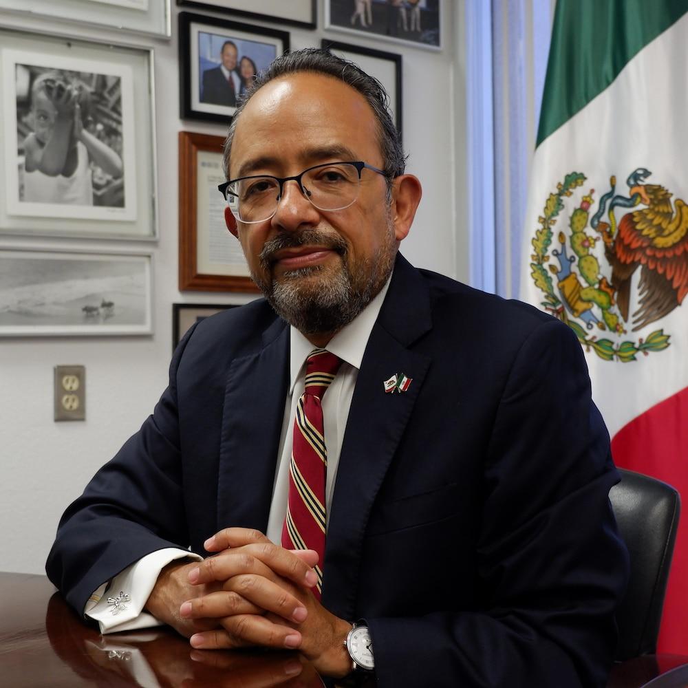 Le consul du Mexique à San Diego.