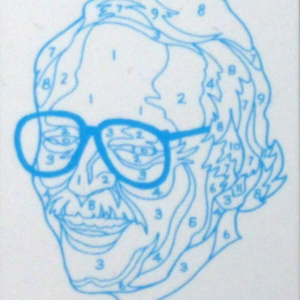 Un autoportrait de Dan Robbins.