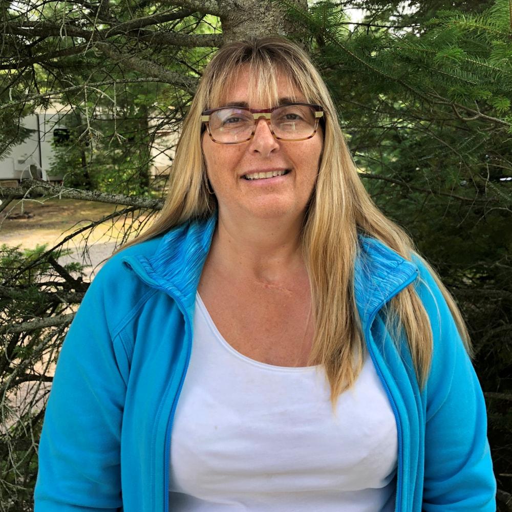 Diane Lamarre, candidate au poste de conseiller municipal no 1 à Saint-Simon